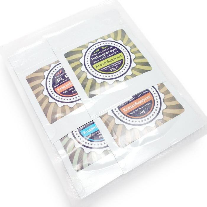 Sample Pack 4 - KratomSupply.net